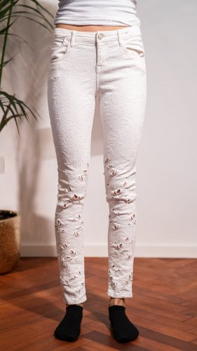 Guess Marciano Jeans Hose mit Cutouts
