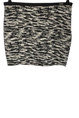Guess Minifalda negro-blanco puro moteado look casual