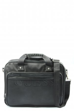 Guess Laptop bag black casual look