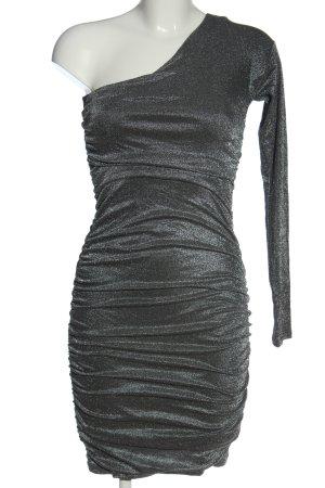 Guess One-Shoulder-Kleid silberfarben Elegant