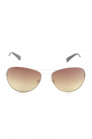 Guess ovale Sonnenbrille bronzefarben Animalmuster Casual-Look