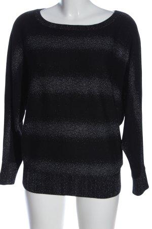 Guess Maglione oversize nero-grigio chiaro stile casual
