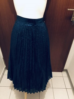 Guess Plisowana spódnica niebieski