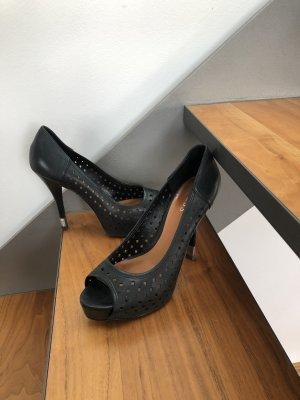 GUESS Peeptoe High-Heel