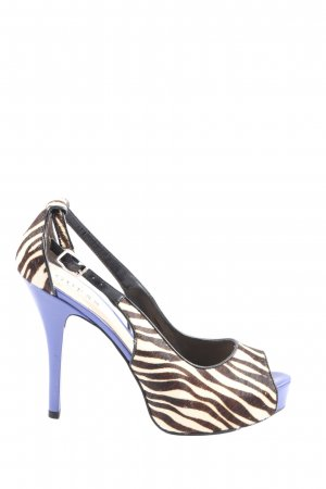 Guess Peep Toe Pumps abstract pattern extravagant style