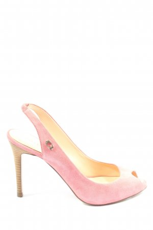 Guess Peeptoe Pumps pink Casual-Look