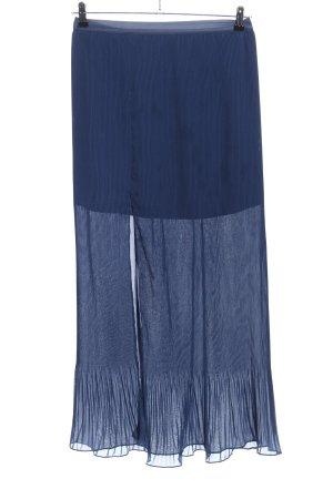 Guess Falda plisada azul look casual