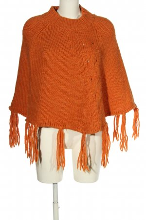 Guess Poncho hellorange Casual-Look