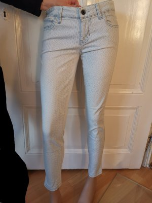 Guess Power Skinny Jeans Gr. 28 hellblau Animalprint