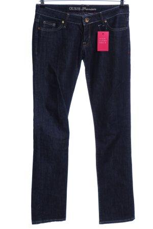 Guess Premium Slim Jeans blau Casual-Look
