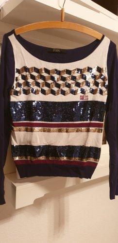 Guess Pull tricoté multicolore