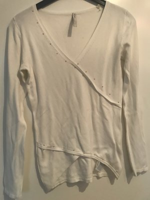 Guess V-Neck Sweater natural white-cream