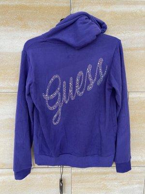 Guess Sudadera con capucha lila-violeta oscuro