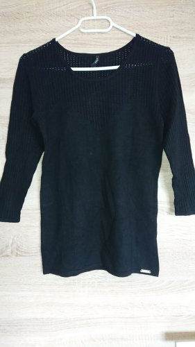 Guess Crochet Sweater black