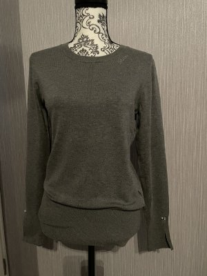 Guess Pullover grau Strass Gr. M