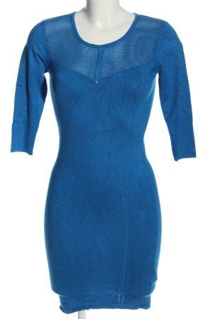 Guess Pulloverkleid blau Casual-Look