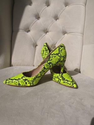 Guess High Heels neon yellow