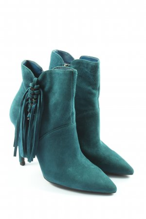 Guess Zipper Booties turquoise casual look