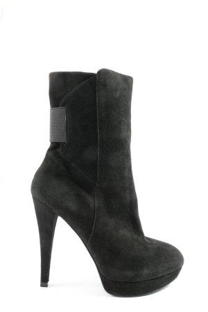 Guess Reißverschluss-Stiefeletten schwarz Casual-Look