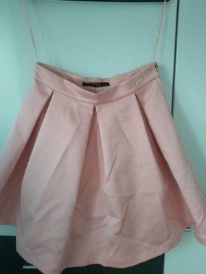 Guess Spódnica w kształcie tulipana w kolorze różowego złota