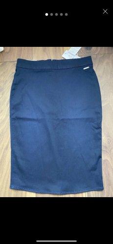 Guess Falda de tubo azul oscuro