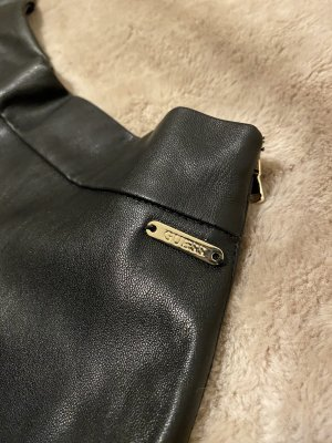 Guess Leather Skirt black