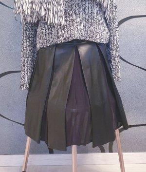 Guess Spódnica z imitacji skóry czarny