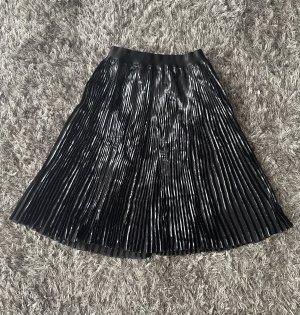 Guess Plisowana spódnica czarny