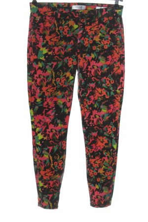 Guess Röhrenhose Allover-Druck Casual-Look