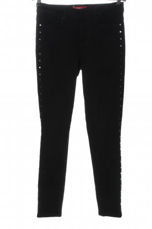 Guess Drainpipe Trousers black casual look