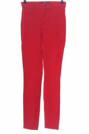 Guess Röhrenhose rot Casual-Look