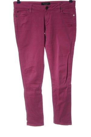 Guess Röhrenhose pink Casual-Look