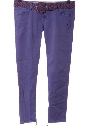 Guess Spodnie rurki niebieski W stylu casual