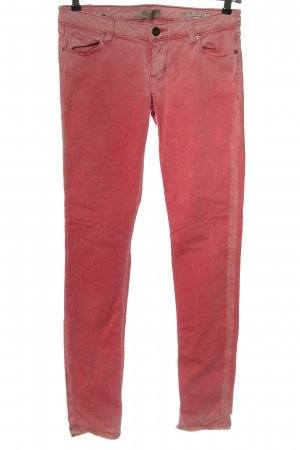 Guess Drainpipe Trousers pink casual look