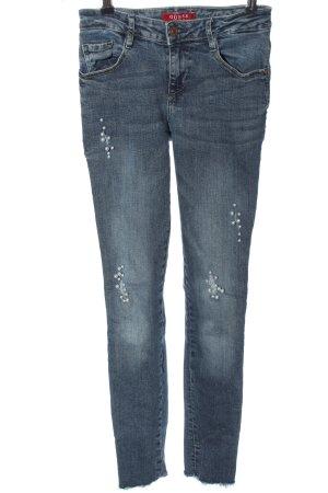 Guess Jeans a sigaretta blu stile casual