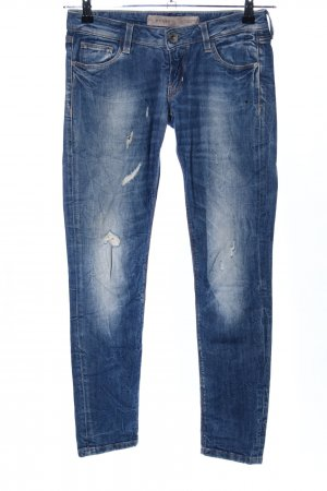 Guess Jeans cigarette bleu style décontracté