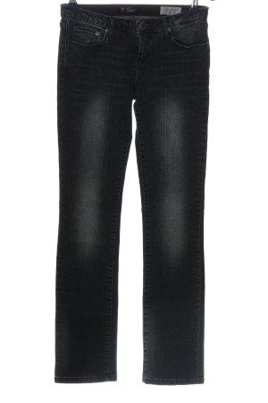 Guess Jeans cigarette noir style décontracté