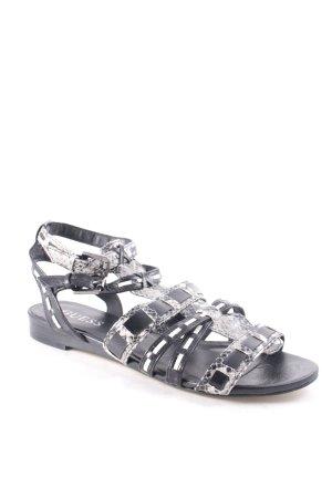 Guess Römer-Sandalen schwarz-grau