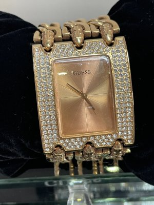 Guess Watch With Metal Strap rose-gold-coloured