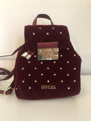Guess School Backpack bordeaux