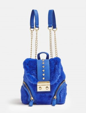 Guess Mini Backpack gold-colored-blue
