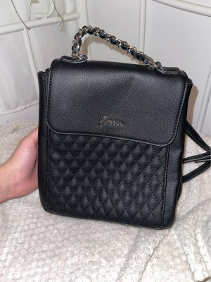Guess Mini Backpack black-silver-colored