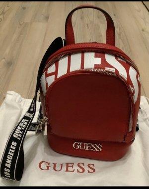Guess Plecak czarny-czerwony