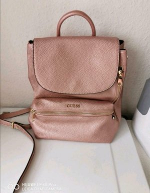 Guess Trekking Backpack rose-gold-coloured