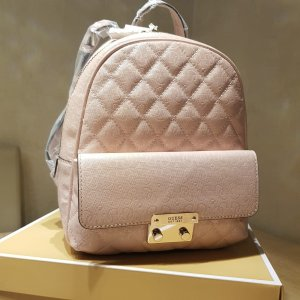 Guess School Backpack pink-light pink