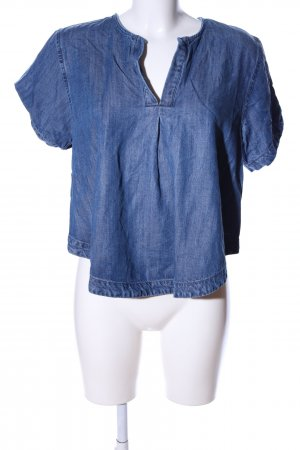 Guess Backless Top blue casual look