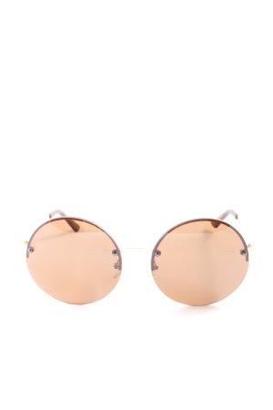 """Guess Gafas de sol redondas """"gf0308"""" blanco puro"""