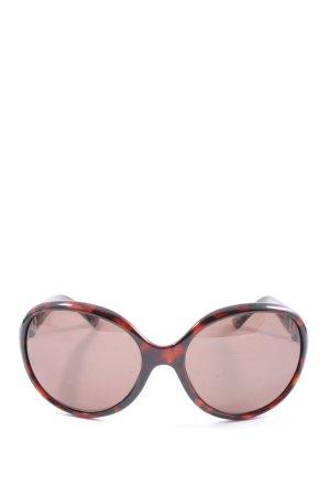 Guess Gafas de sol redondas negro-rojo look casual