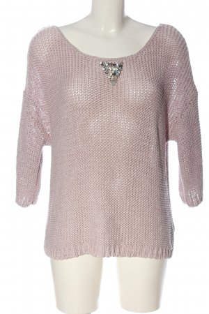 Guess Rundhalspullover pink Casual-Look