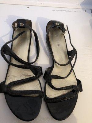 Guess Sandalias negro Cuero